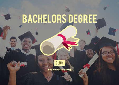 bachelors: Bachelors Degree Success Graduation University Concept Stock Photo