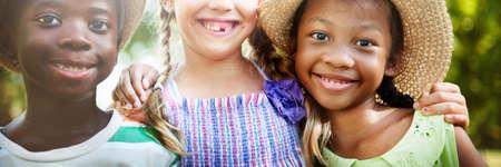 offspring: African Descent Kids Child Happiness Offspring Concept