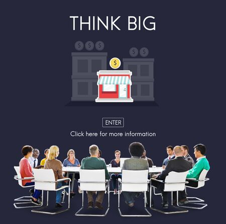 business opportunity: Think Big Investment Opportunity Business Concept