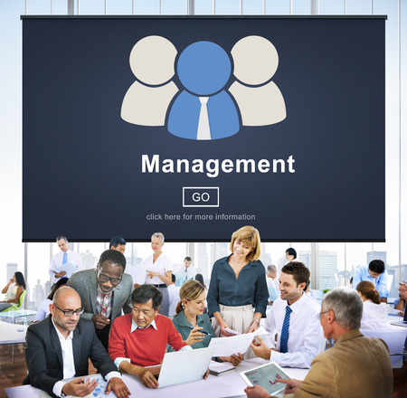 dealing: business, coaching, controlling, coordination, dealing, management, manager, managing, mentor, organization, process, roles of management, strategy, supervising, word Stock Photo