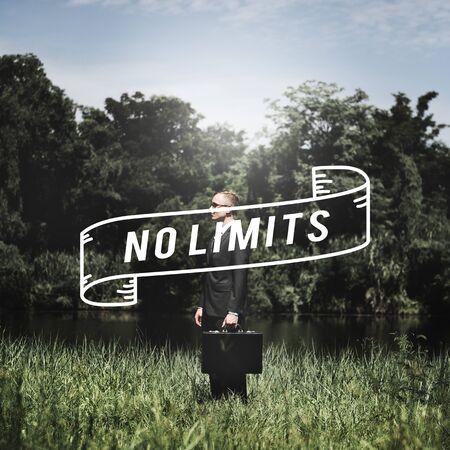 no limits: No Limits Creative Explore Freedom Inspire Concept Stock Photo