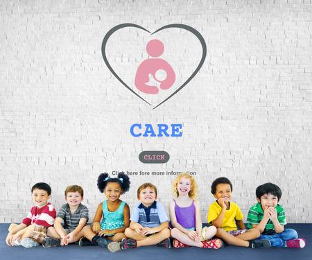 Care Childcare Love Baby Take Care Concept