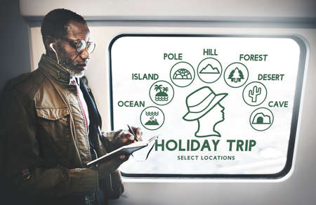 holiday trip: Holiday Trip Adventure Travel Journey Experience Concept