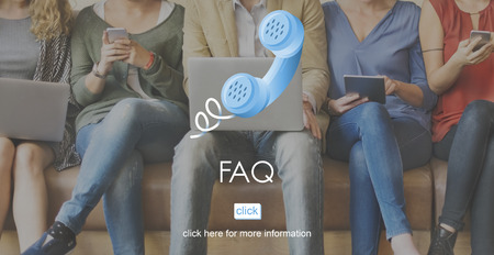 frequently asked question: FAQ Frequently Asked Question Help Message Concept