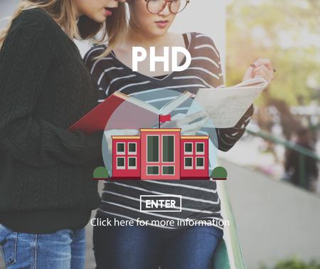 degree: PHD Academic Education Degree Study Concept