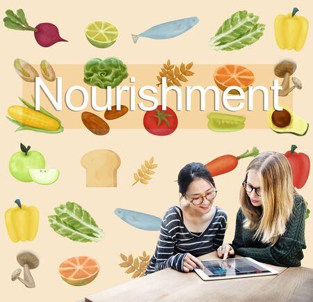 nourishment: Nourishment Fresh Healthy Natural Relaxation Concept Stock Photo