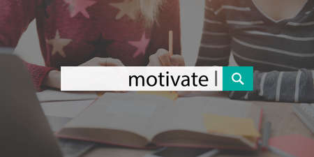 incentive: Motivate Aspiration Goal Hopeful Incentive Inspire Concept Stock Photo