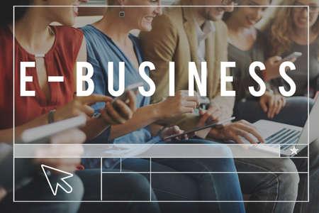 socialise: Business Online Connection Management Marketing Concept Stock Photo