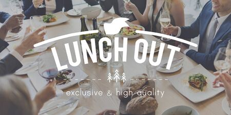 out to lunch: Lunch Out Food Meal Catering Cuisine Culinary Gourmet Concept