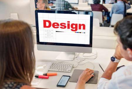 Design Ideas Creativity Thoughts Imagination Inspiration Plan Concept Stock Photo