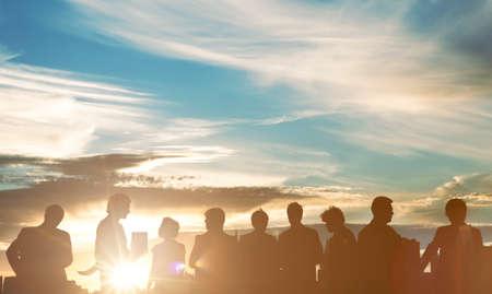 Communication Association Technology Teamwork Concept