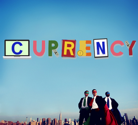 investment concept: Currency Finance Money Investment Economy Concept
