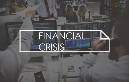 financial crisis: Financial Crisis Accounting Cost Economy Risk Concept