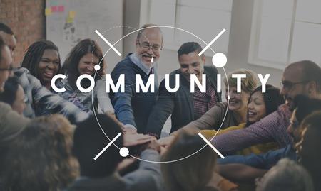 Comunità Concetto Connessione Diversità Archivio Fotografico