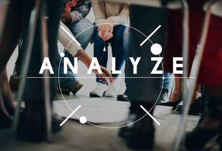 Analyze Plan Process Research Concept Stock Photo