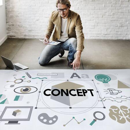 Concepto Plan de Percepción Noción Imagen creativa Intención