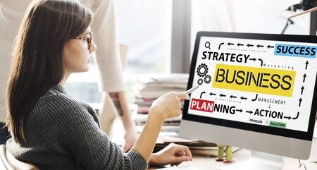 Business Planning Strategy Success Action Concept