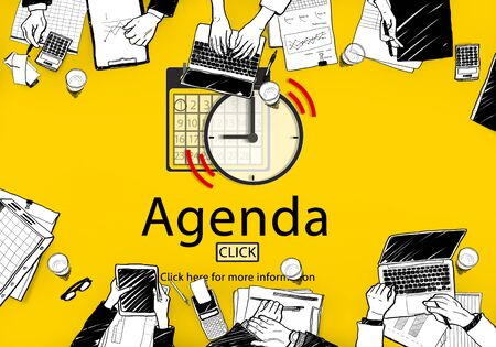 appointment: Agenda Appointment Activity Plan Concept