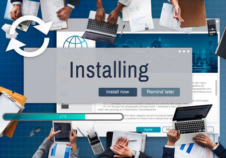 installer: Installing Install Manual Privacy Support Setup Concept