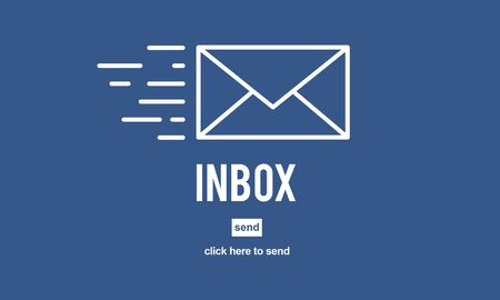 correspondence: E-mail Correspondence Envelpoe Message Inbox Concept