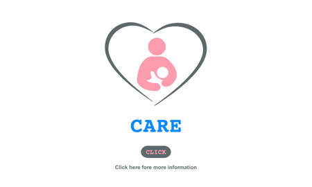 look after: Care Childcare Love Baby Take Care Concept