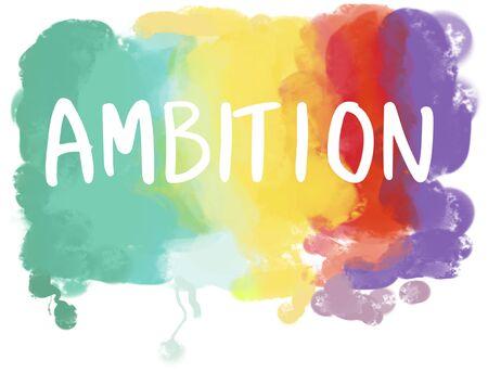 ambition: Aspirations Desire Dream Ambition Goals Concept Stock Photo