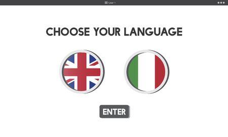 factions: Language Dictionary English Italian Concept
