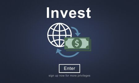 fund: Invest Fund Banking Savings Business Concept