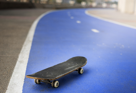 urban culture: Skate Skateboard Activity Extreme Sport Playing Concept