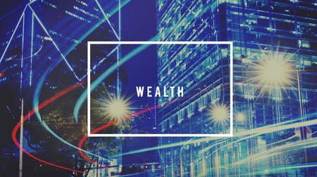ganancias: Concepto de ahorro de ganancia patrimonial Ganancias Ingresos Crecimiento Foto de archivo