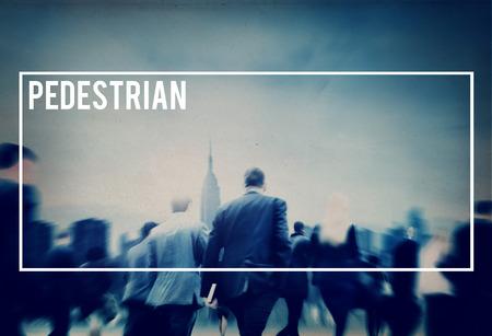 tiresome: Pedestrian Walker Walking Foot Traffic Active Concept