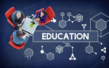 Education Particules Géométrie Shapes Graphics Concept