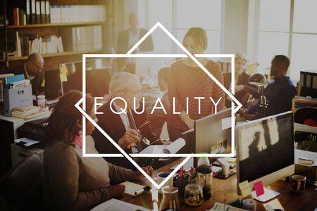 Equality Relationship Respect Fair Balance Concept