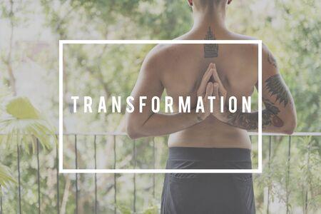 transform: Transform Change Free Matrix Nature Energy Concept Stock Photo