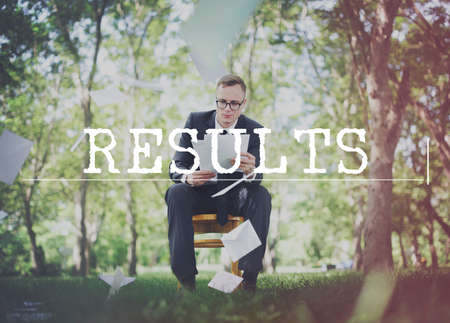 evaluate: Results Achievement Assessment Effect Evaluate Concept