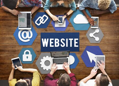 browsing the internet: Website Browsing Internet Online Concept