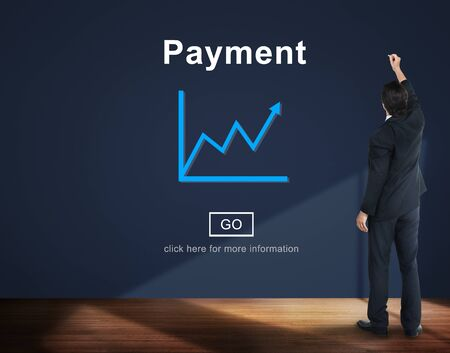 pay wall: Payment Liability Money Finance Banking Concept