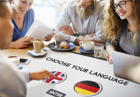 faction: Language Dictionary English German Concept