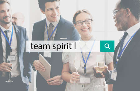 team spirit: Team Spirit Power Spirit Strong Togetherness Concept Stock Photo