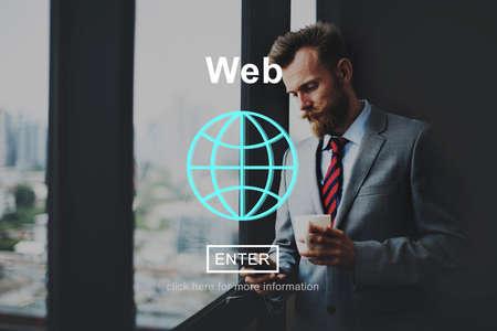 Web Hosting Development Connection Networking Concept