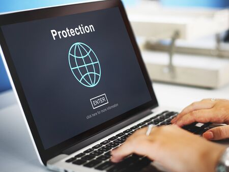 security safety: Protection Security Safety Privacy Policy Concept
