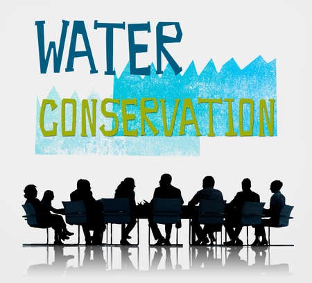 environmental issue: Water Conservation Environmental Issue Problem Concept