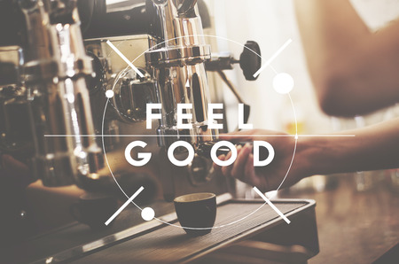 by feel: Feel Good Positivity Relaxation Concept