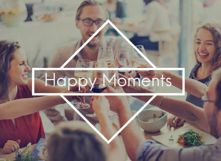 the moments: Happy Moments Feel Good Enjoy Fun Happiness Leisure Concept Stock Photo