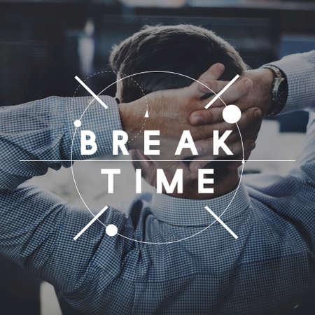 break free: Break Free Time Relaxation Rest Concept Stock Photo