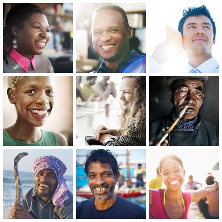 variation: Diversity Diverse Ethnic Ethnicity Unity Variation Concept Stock Photo