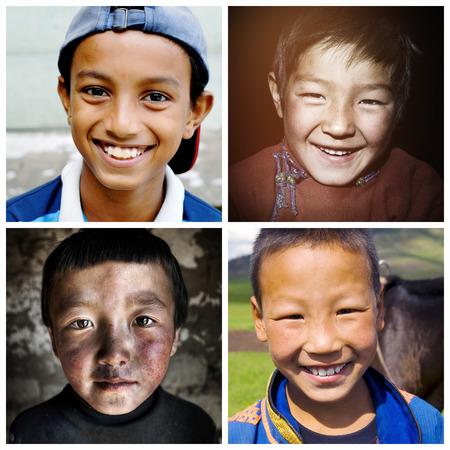 ni�os de diferentes razas: De descendencia mixta Descendencia Descenso