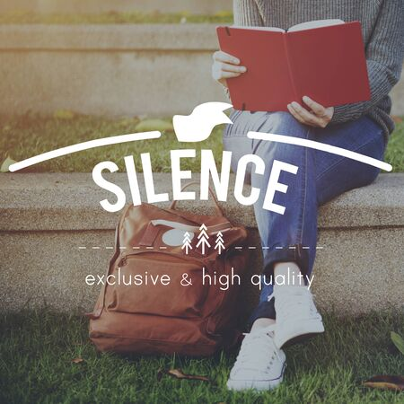 peace and quiet: Silence Silent Peace Tranquil Quiet Meditation Concept