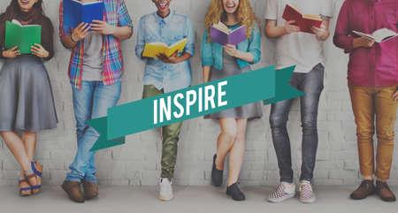 studens: Inspire Inspiration Ideas Creativity Influencing Encourage Concept