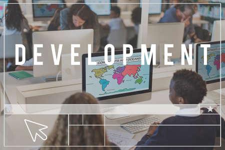 devilment: Development Solution Vision Innovation Progress Concept